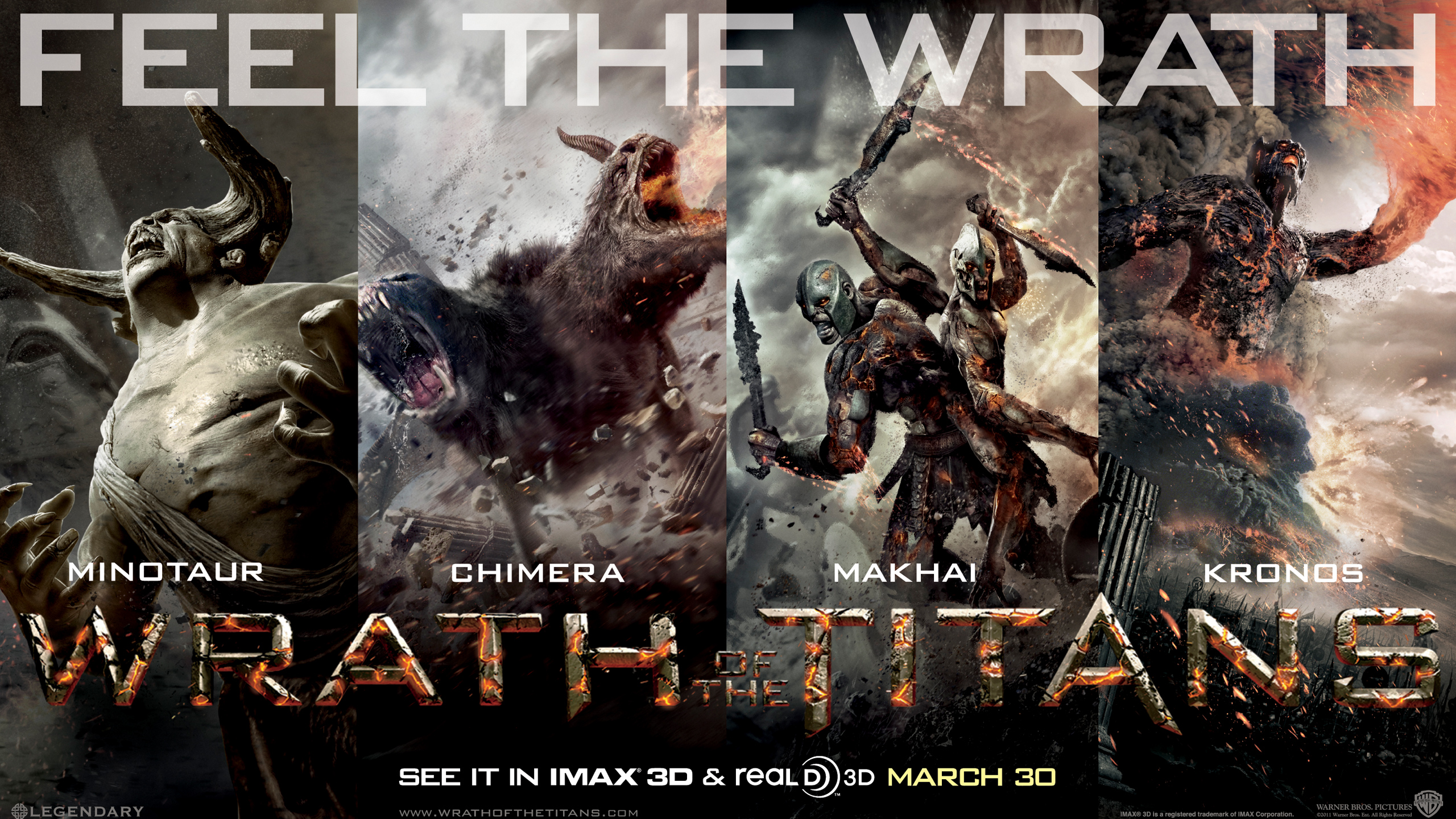 Wrath of The Titans wallpaper 5